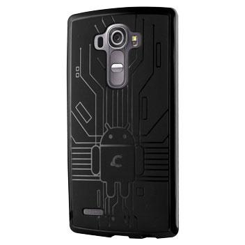 Cruzerlite Bugdroid Circuit LG G4 Gel Case - Black