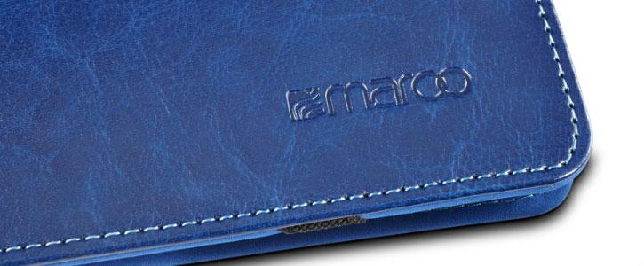 Maroo Microsoft Surface 3 Leather Folio Case - Woodland Blue