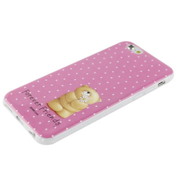 Forever Friends iPhone 6 Case with Screen Protector - Spotty Pink