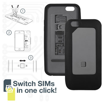 ThumbsUp! iPhone 6 Dual SIM Case - Black
