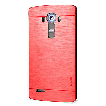 Olixar Aluminium LG G4 Shell Case - Red