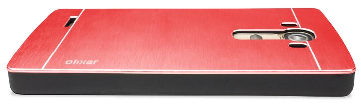 Olixar Aluminium LG G4 Shell Case - Red