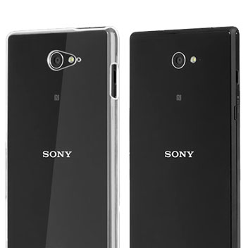 Olixar Ultra-Thin Sony Xperia M2 Shell Case - 100% Clear