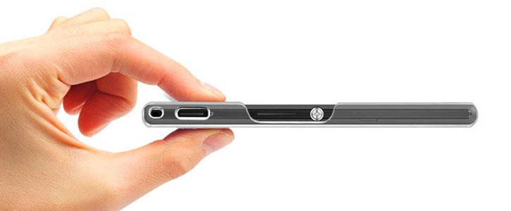 Olixar Ultra-Thin Sony Xperia M2 Shell Case - 100% Clear