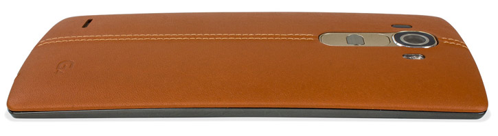 LG G4 Brown Leather Replacement Back Cover