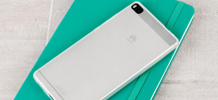 FlexiShield Huawei P8 Case - Frost White