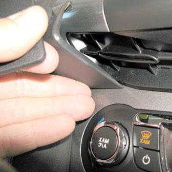 Brodit ProClip Angled Mount - Ford Focus 11-14
