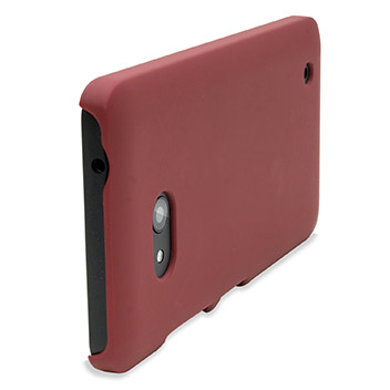 ToughGuard Microsoft Lumia 640 Rubberised Case - Solid Red