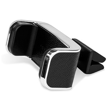 DashCrab MONO Premium Leather Car Vent Mount - Black