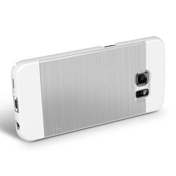 Obliq Slim Meta Samsung Galaxy S6 Edge Case - Satin Silver