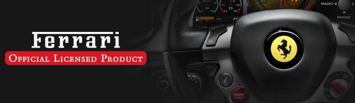 Ferrari 458 Genuine Leather iPhone 6 Hard Case - Black