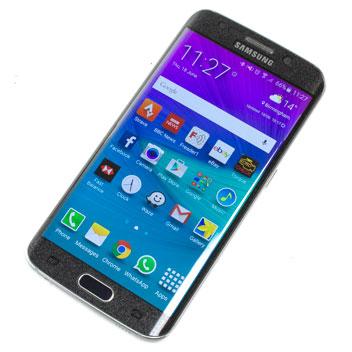 Olixar Samsung Galaxy S6 Edge Curved Glass Screen Protector - Black