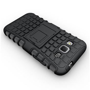 ArmourDillo Samsung Galaxy Core Prime Protective Case - Black