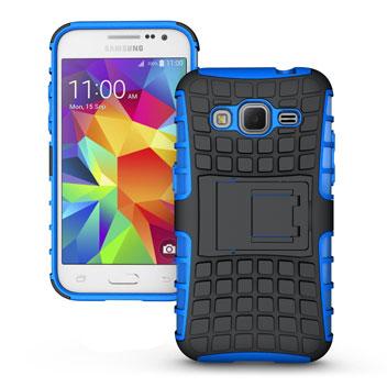 ArmourDillo Samsung Galaxy Core Prime Protective Case - Blue