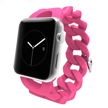 Case-Mate Turnlock Apple Watch Strap with Charm - 38mm - Pink