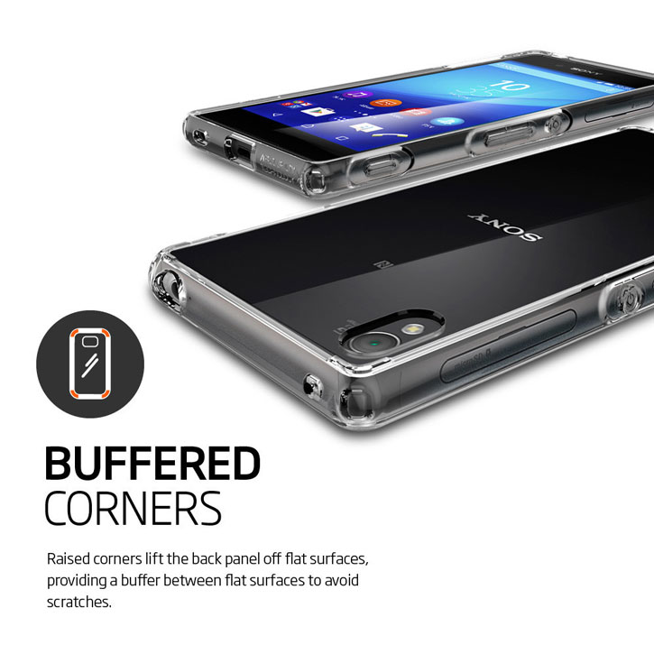 Spigen Ultra Hybrid Sony Xperia Z3+ Case - Clear