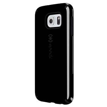 Speck CandyShell Samsung Galaxy S6 Case - Black / Slate Grey