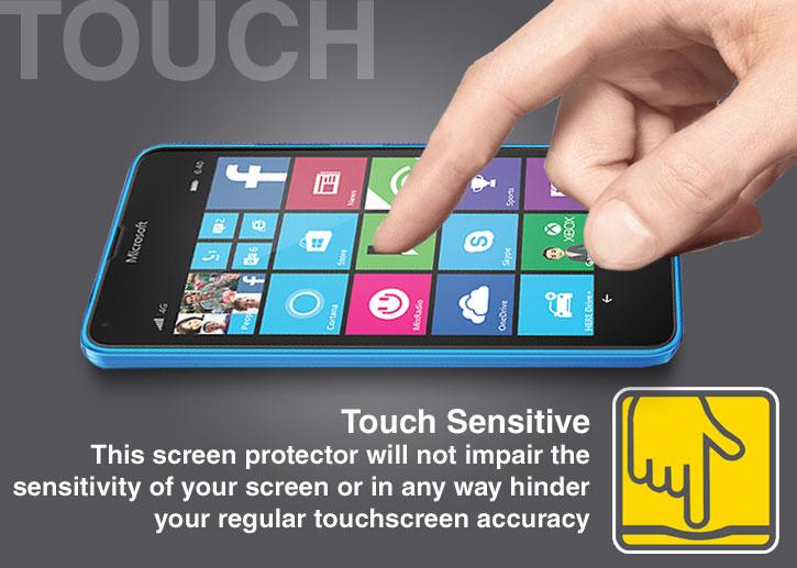 Olixar Microsoft Lumia 640 Tempered Glass Screen Protector