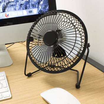 High Velocity Metal Desk Fan
