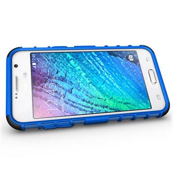 ArmourDillo Samsung Galaxy J5 Protective Case - Blue