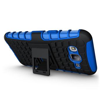 ArmourDillo Samsung Galaxy J7 Protective Case - Blue