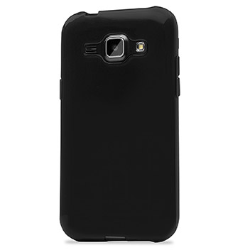 FlexiShield Samsung Galaxy J1 Gel Case - Black