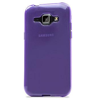FlexiShield Samsung Galaxy J1 Gel Case - Purple