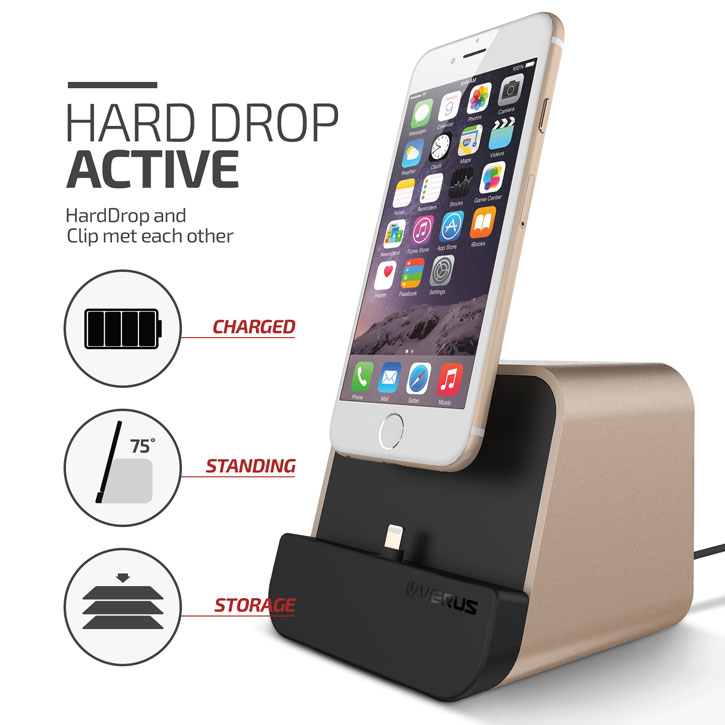 Verus i-Depot iPhone / iPad Charging Stand - Gold