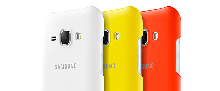 Official Samsung Galaxy J1 Protective Cover Case - White