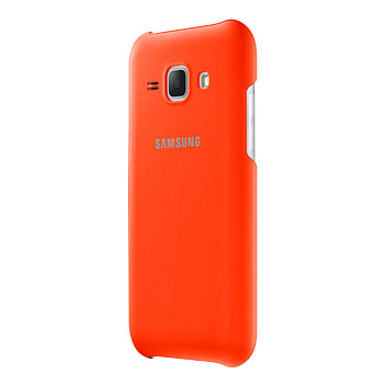 Official Samsung Galaxy J1 Protective Cover Case - Orange