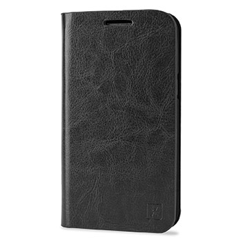 Olixar Leather-Style Samsung Galaxy J1 Wallet Case - Black