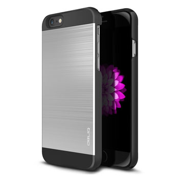Obliq Slim Meta II iPhone 6 Case - Black / Silver