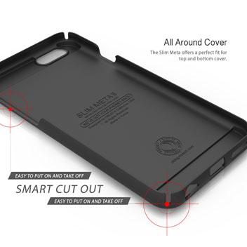 Obliq Slim Meta II iPhone 6 Case - Black / Silver