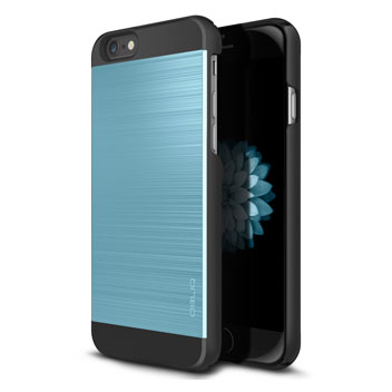 Obliq Slim Meta II iPhone 6 Case - Black / Blue