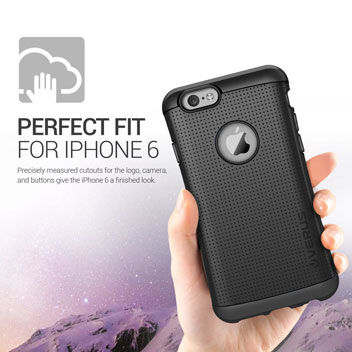 Verus Thor Series iPhone 6 Tough Case - Charcoal Black
