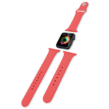 Bracelet Apple Watch 2 / 1 Olixar Sport Silicone 3-en-1 - 38mm - Rouge