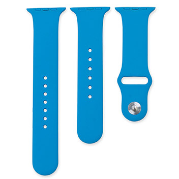 Olixar 3-in-1 Silicon Sports Apple Watch Strap 38mm - Blue