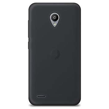 FlexiShield Vodafone Smart Prime 6 Gel Case - Black