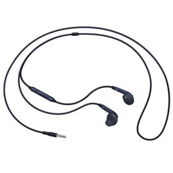 Official Samsung Galaxy S6 Edge Earphones - Black