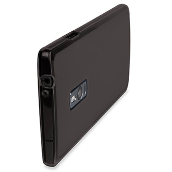 FlexiShield OnePlus 2 Gel Case - Smoke Black