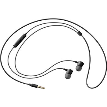 Auriculares de oído oficiales Samsung con Control Remoto - Negros