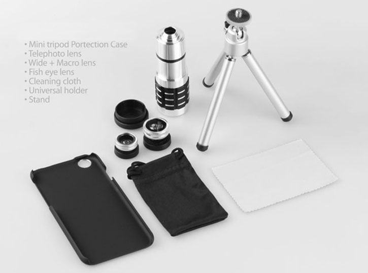 iPhone 6 12x Zoom Telescope Kit with Tripod Stand