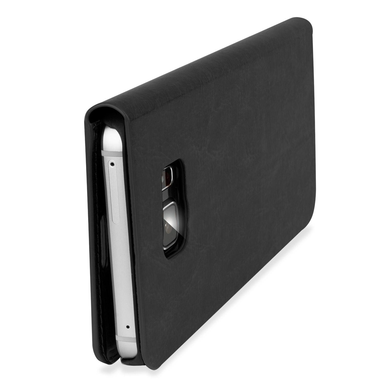 Olixar Leather-Style Samsung Galaxy Note 5 Wallet Case - Blacjavascript:void(0)k