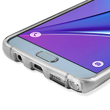 FlexiShield Samsung Galaxy Note 5 Gel Case - Frost White