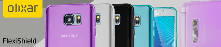 FlexiShield Samsung Galaxy Note 5 Gel Case - Blue
