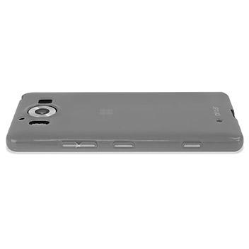 FlexiShield Microsoft Lumia 950 Gel Case - Frost White