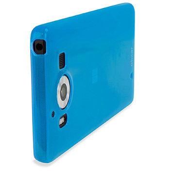 FlexiShield Microsoft Lumia 950 Gel Case - Blue