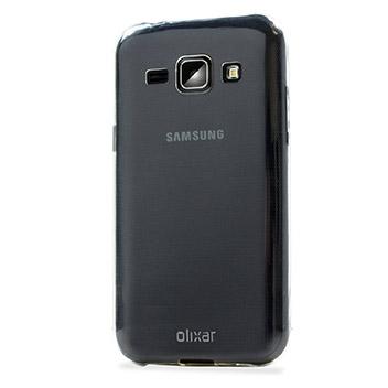 FlexiShield Ultra-Thin Samsung Galaxy J1 Gel Case - 100% Clear