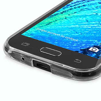 FlexiShield Ultra-Thin Samsung Galaxy J1 Gel Case - 100% Clear
