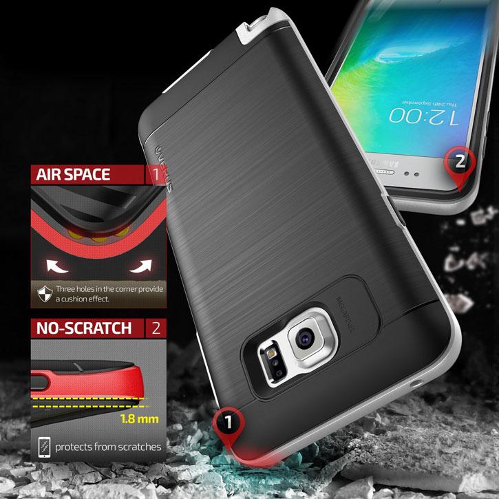 Verus High Pro Shield Series Samsung Galaxy Note 5 Case - Satin Silver
